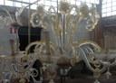 Lampadari di Murano: ancora pochi mesi e il restauro sarà completato